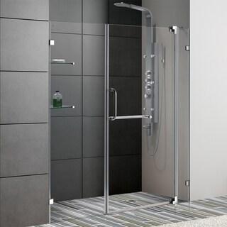 Vigo 66-inch Frameless Clear Shower Door