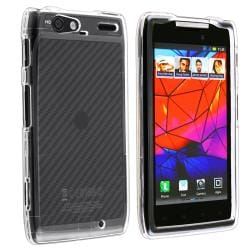 Clear Snap-on Crystal Case for Motorola Droid Razr Maxx XT916