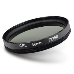 46-mm Black CPL Lens Filter