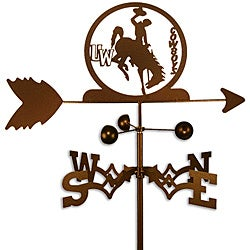 Uneversity of Wyoming Cowboys Weathervane