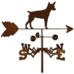 Rat Terrier Weathervane