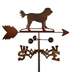Handmade Cockapoo Dog Copper Weathervane