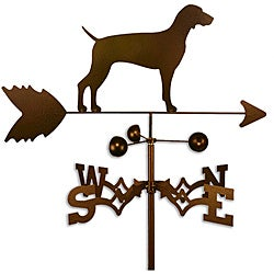 Handmade Weimaraner Dog Copper Weathervane