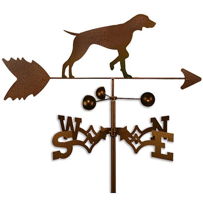 Handmade Vizsla Dog Copper Weathervane