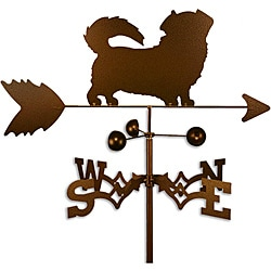 Handmade Tibetan Terrier Dog Copper Weathervane