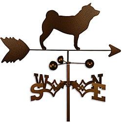Handmade Shiba Inu Dog Copper Weathervane