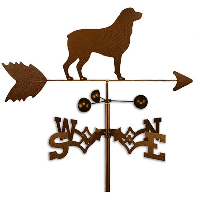Handmade Rottweiler Dog Copper Weathervane