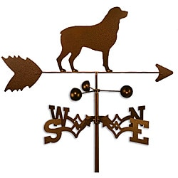 Handmade Rottweiler Dog Copper Weathervane