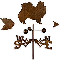 Handmade Japanese Chin Dog Copper Weathervane