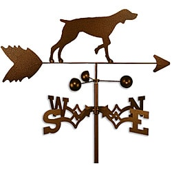 Handmade German Shorthair Dog Copper Weathervane