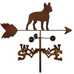 Handmade French Bulldog Dog Copper Weathervane