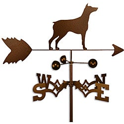 Handmade Doberman Pinscher Dog Weathervane