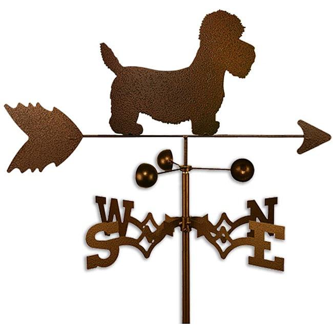 Handmade Dandie Dinmont Dog Weathervane