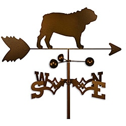 Handmade Bulldog Copper Weathervane