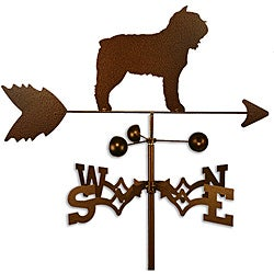 Handmade Bouvier des Flandres Dog Copper Weathervane