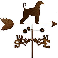 Afghan Hound Dog Weathervane