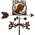 Handmade Armed Services POW MIA Weathervane