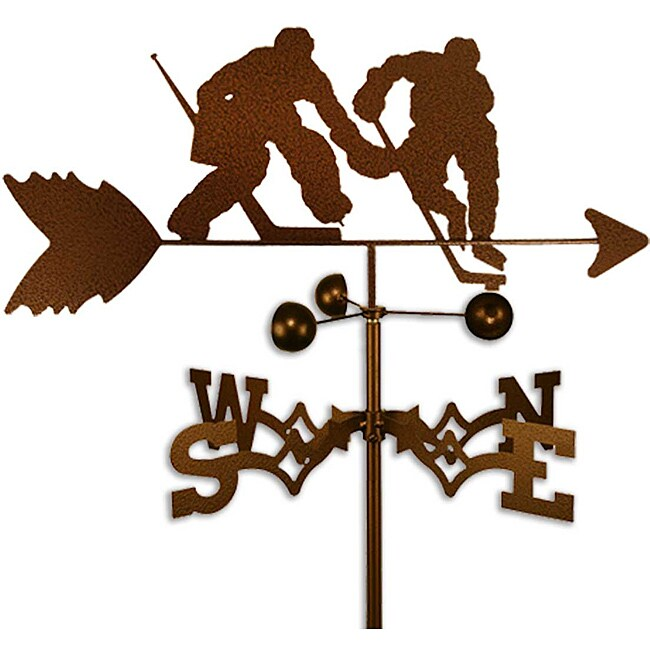 Handmade Hockey Player NHL Goalie Weathervane