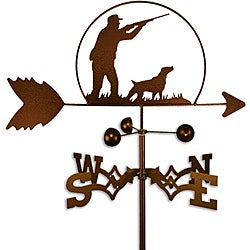 Handmade Duck Hunter Dog Weathervane