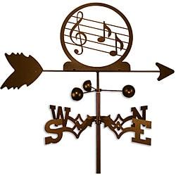 Handmade Music Notes Trebel Clef Weathervane