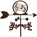 Handmade Music Notes Trebel Clef Weathervane