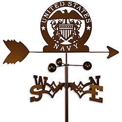 Handmade Armed Services US Naval Academy Weathervane