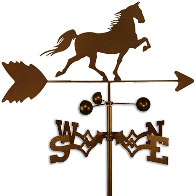 Handmade Saddlebred Horse Weathervane