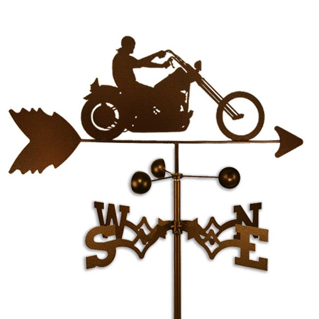 Handmade Easy Rider Motorcycle Weathervane