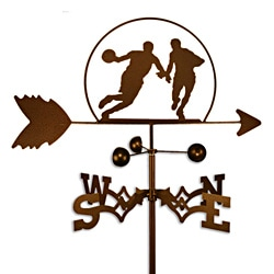 Basketball Player Handmade Steel Weathervane