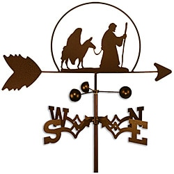 Mary and Joseph Christmas Handmade Weathervane