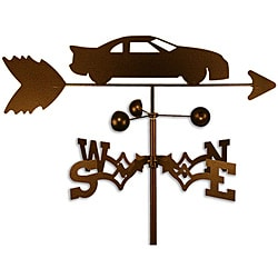 Handmade Stock Race Car Weathervane