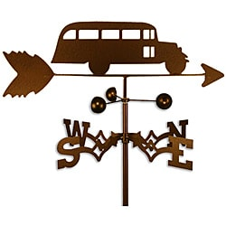 Handmade School bus Weathervane