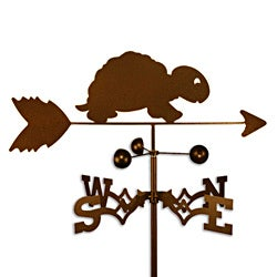 Handmade Turtle Weathervane