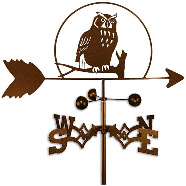 Handmade Owl Bird Weathervane