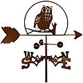 Handmade Owl Bird Weathervane