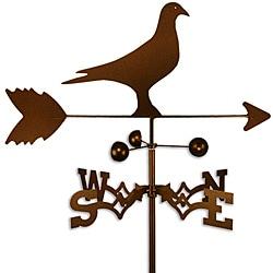 Handmade Homing Pigeon Bird Weathervane