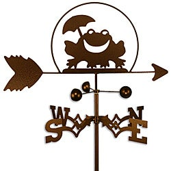 Jumping Frog Weather Vane by West Coast Weather Vanes. This