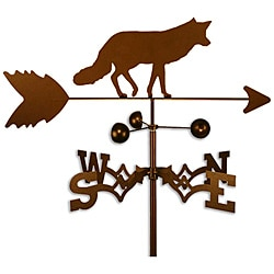 Handmade Fox Weathervane