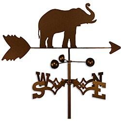 Handmade Elephant Weathervane