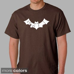 Los Angeles Pop Art Men's 'Bite Me' Bat Cotton T-Shirt