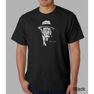 Los Angeles Pop Art Men's 'Origninal Gangster' Capone Cotton T-Shirt
