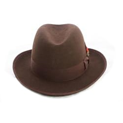 Ferrecci Men's 'Godfather' Brown Wool Hat