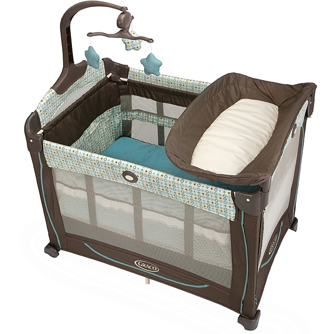 Overstock.com Graco Pack 'n Play Element Playard with Stages in Oasis at Sears.com