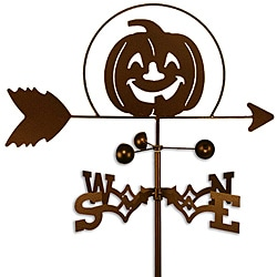 Handmade Halloween Pumpkin Weathervane
