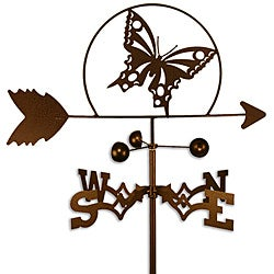 Handmade Butterfly Weathervane