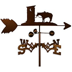 Handmade Outhouse Horse Weathervane