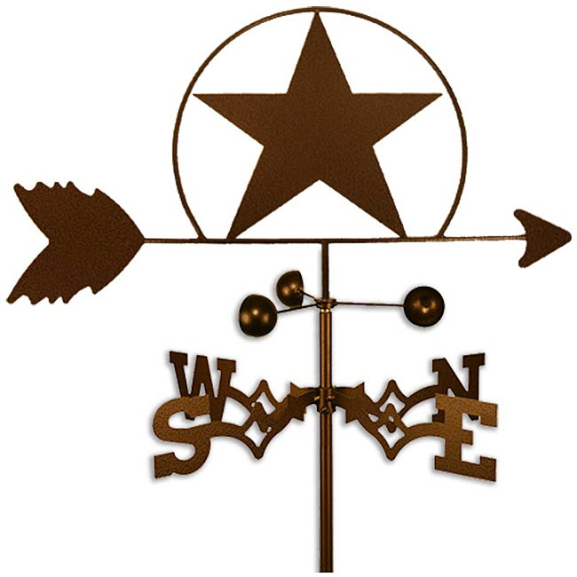 Handmade Lone Star Weathervane
