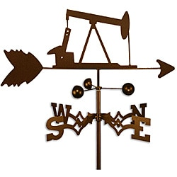 Handmade Oil Rig Well Pump Weathervane