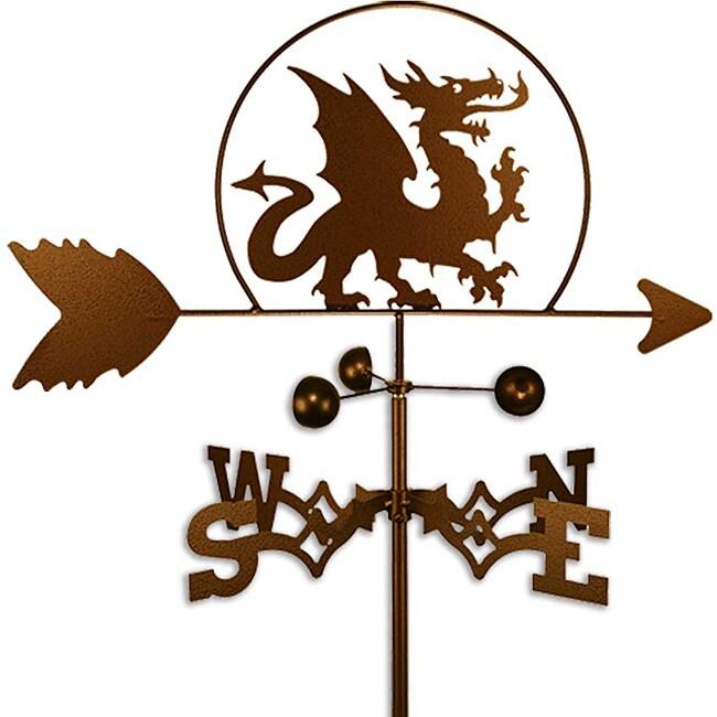 Handmade Dragon Weathervane
