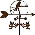 Handmade Parrot Bird Weathervane